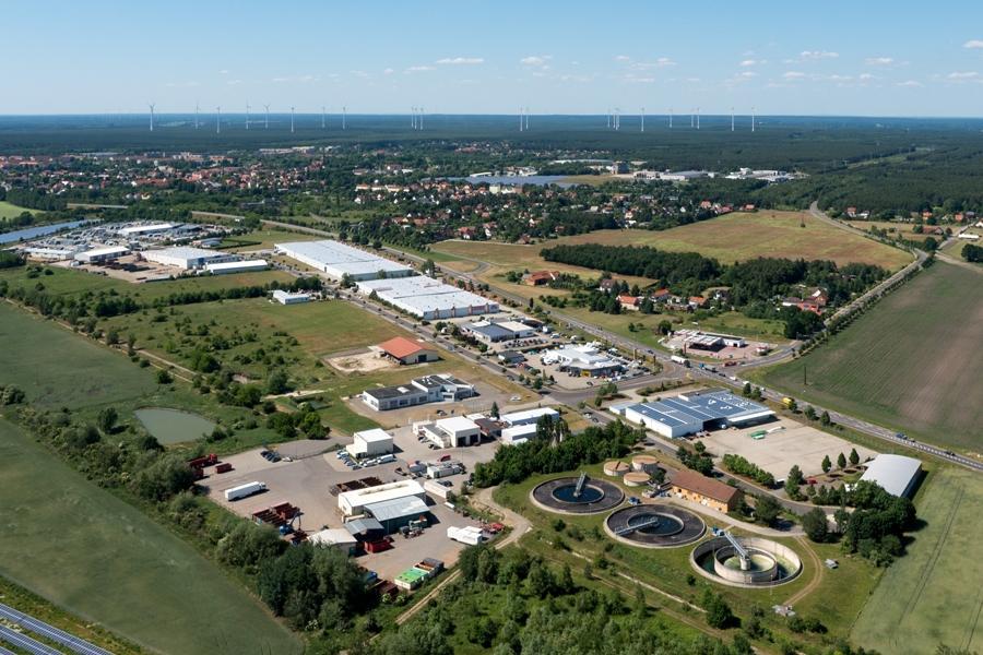 Luftbild Am Räschener Laug