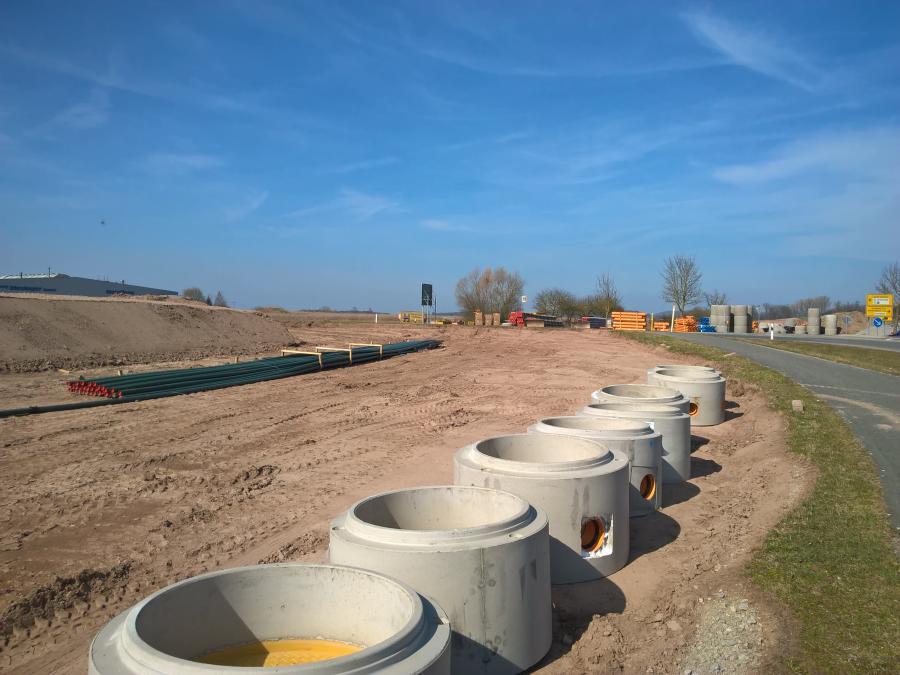 Erschließung Gewerbegebiet Leutershausen-Ost