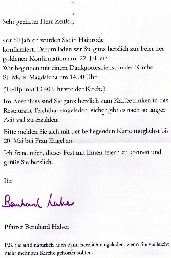 GK Detlef Einladung
