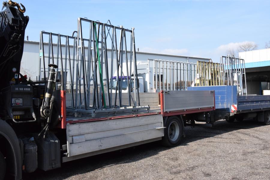 Glasgestelle sorgen für den sicheren Transport