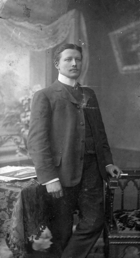 Gustav Glasow (geb. 29.9.1880, gest. 10.6.1953)