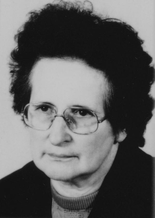 Doris Glasow (geb. 9.8.1922, gest. 10.7.2004)