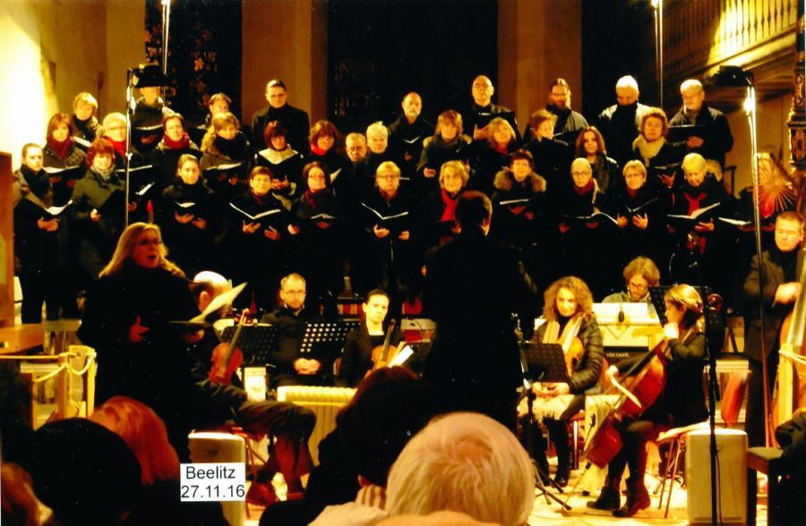 """Antonio Vivaldi """"Gloria"""" - Kantorei Beelitz"""