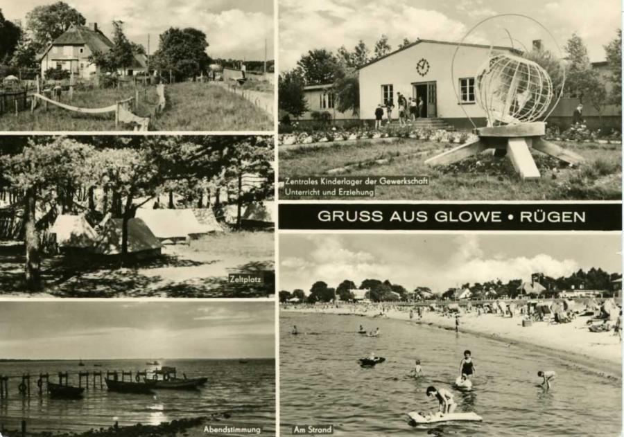 Gruss aus Glowe 1968