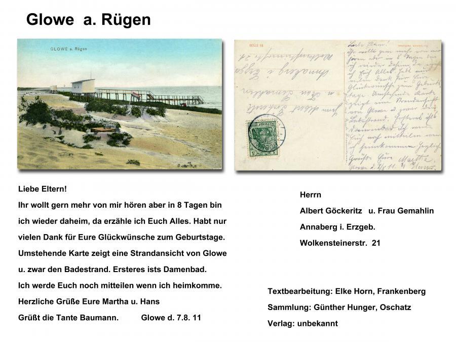 Glowe a Rügen