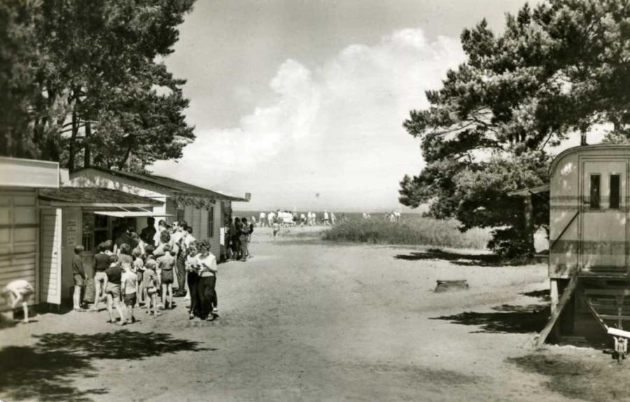 Glowe Zeltplatz 1964