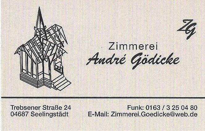 Visitenkarte Gödicke
