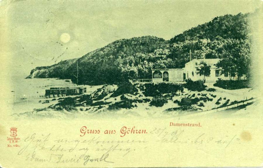 Gruss aus Göhren 1898