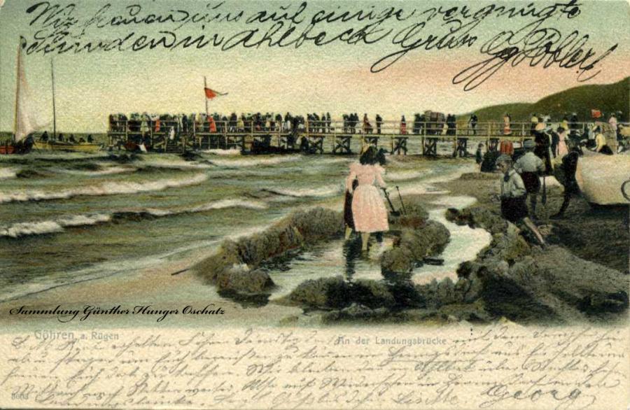 Göhren a. Rügen An der Landungsbrücke