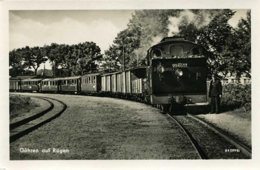 Göhren auf Rügen Kleinbahn