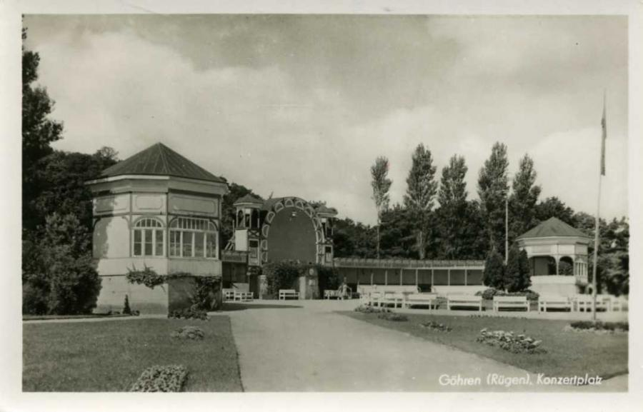 Göhren Konzertplatz 1954