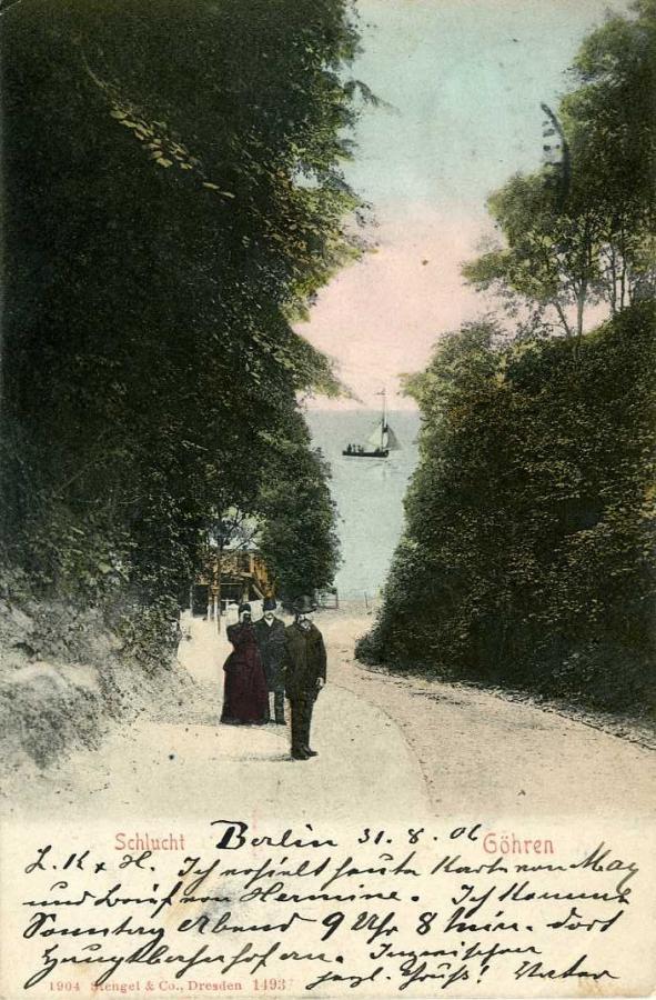 Göhren Schlucht 1906