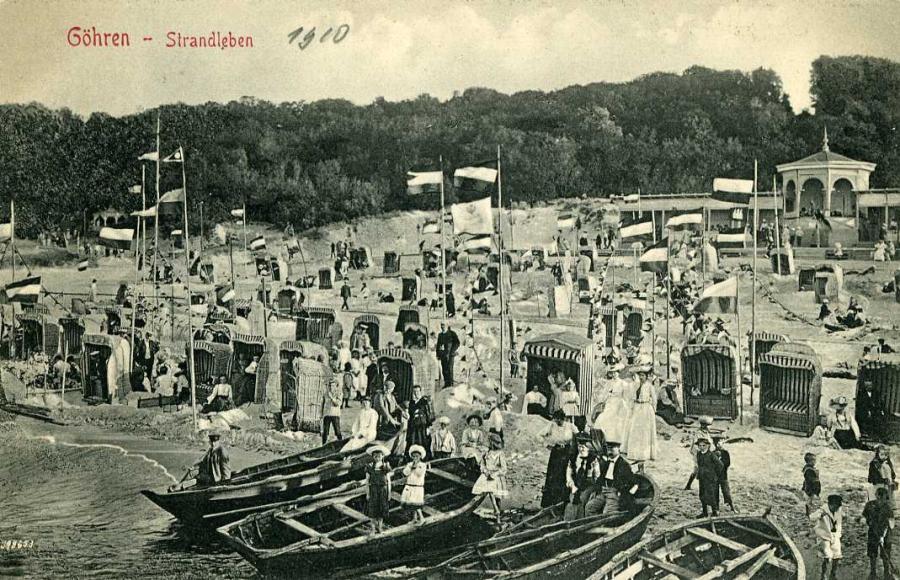 Göhren Strandleben 1910