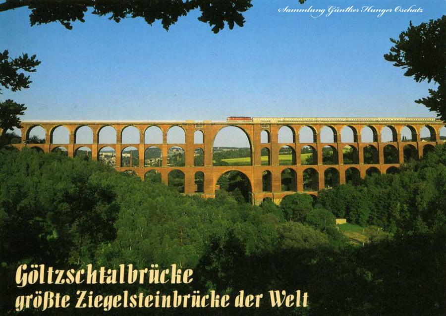 Göltzschtalbrücke größte Ziegelsteinbrücke der Welt