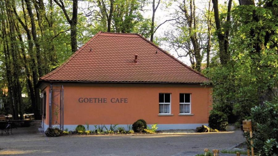 Goethecafé im Kurpark