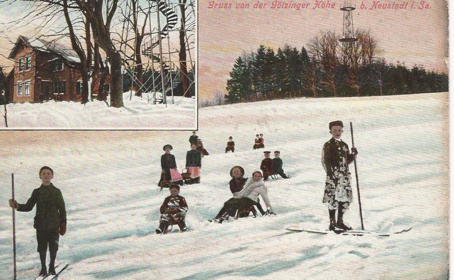 Götzinger im Schnee
