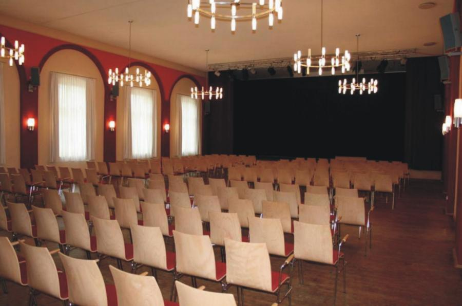Goldener Löwe Großer Saal  Bestuhlung1, Foto: Gemeinde Wandlitz