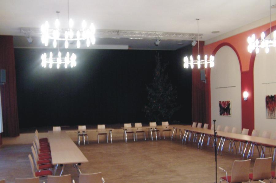 Goldener Löwe Großer Saal  Bestuhlung3, Foto: Gemeinde Wandlitz