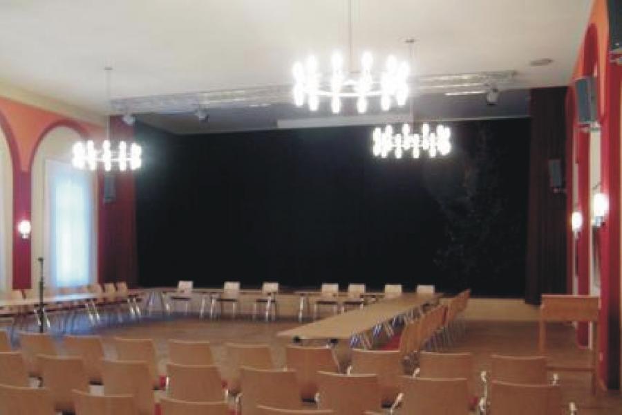 Goldener Löwe Großer Saal, Foto Gemeinde Wandlitz