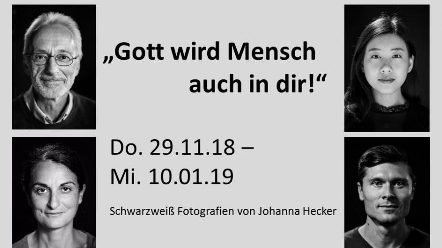 Ausstellung Gott wird Mensch, Johanna Hecker
