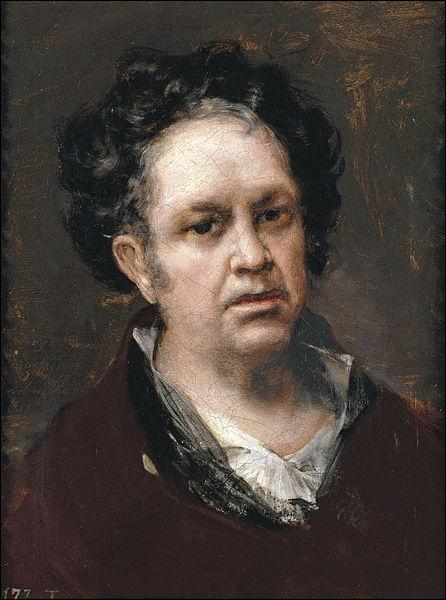 Francisco Goya, Selbstportrait, 1818