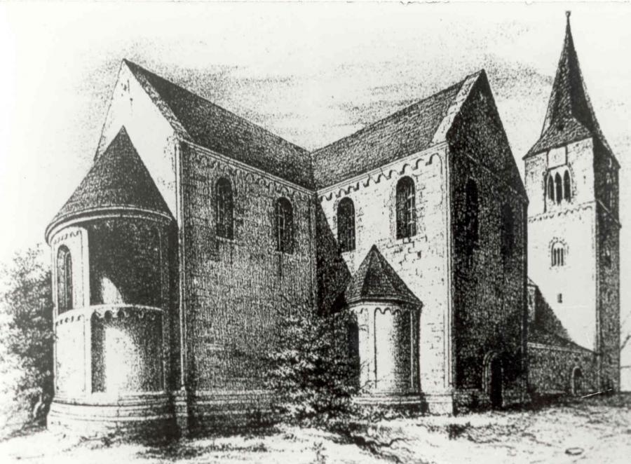 Benediktinerinnen Klosterkirche St. Georg & St.Pancratius zu Hecklingen