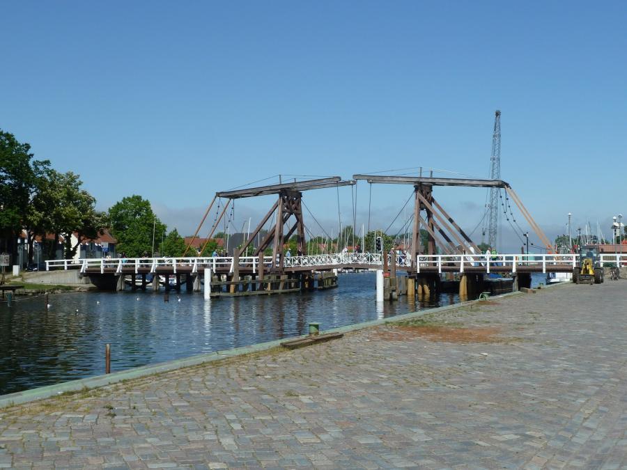 Wieker Holzbrücke