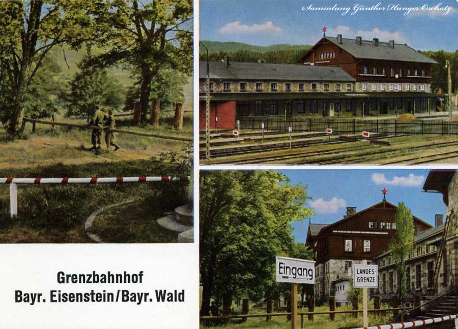 Grenzbahnhof Bayr. Eisenstein Bayr.Wald