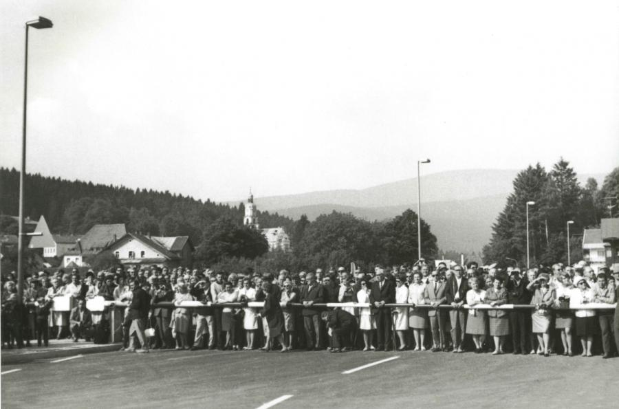 Grenzöffnung am 01. Juli 1969