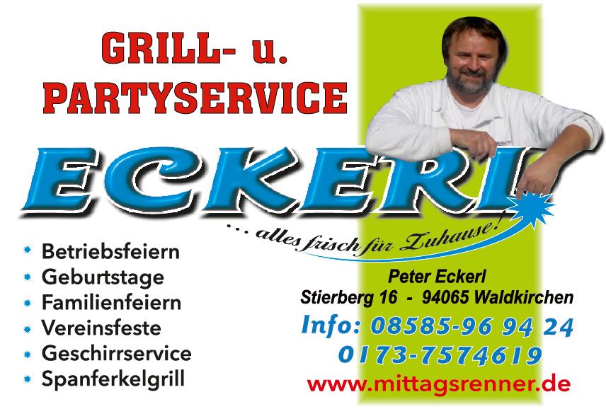 Grill- und Partyservive Eckerl - Logo