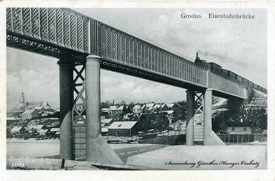 Grodno Eisenbahnbrücke