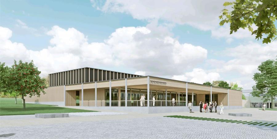 So wird die neue Stadthalle aussehen!