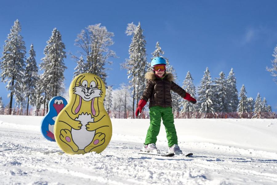Skifahren am Großen Arber- Kinderland