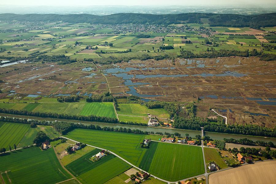 Mittellandkanal und Großes Torfmoor. Foto: Kai Hormann.