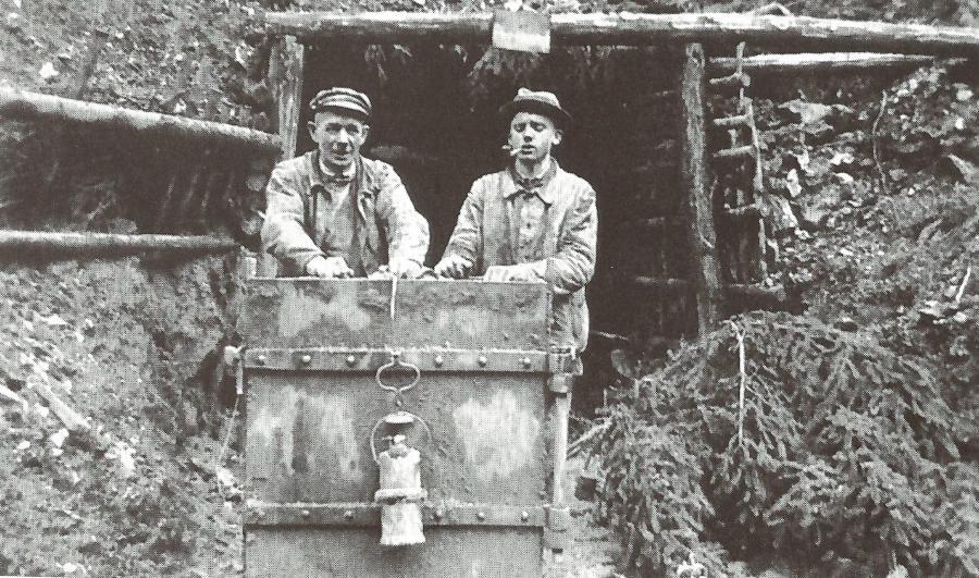 Grube Neuglück 1935