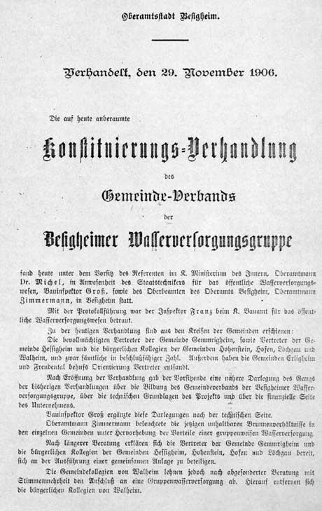 Gründungsvertrag