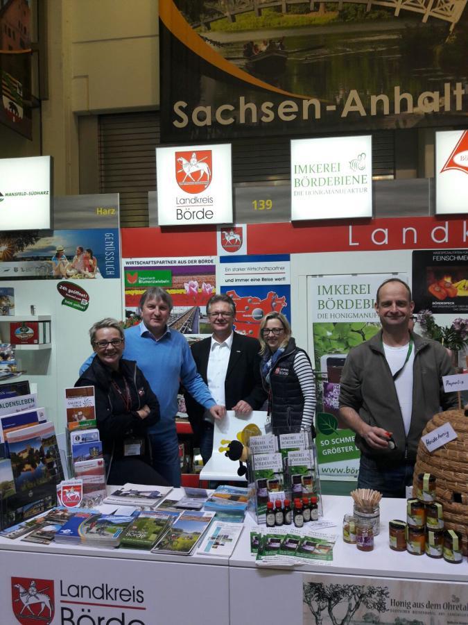 Die Stadt Oebisfelde-Weferlingen auf der Grünen Woche 2017.