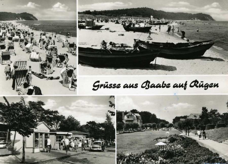 Grüsse aus Baabe auf Rügen 1970