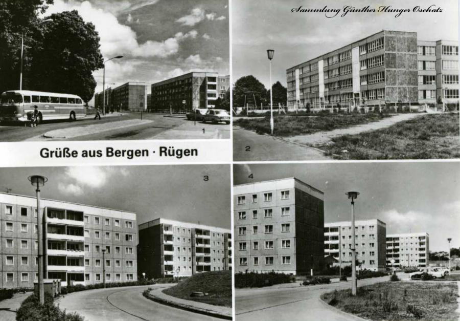 Grüße aus Bergen - Rügen Bergen-Süd