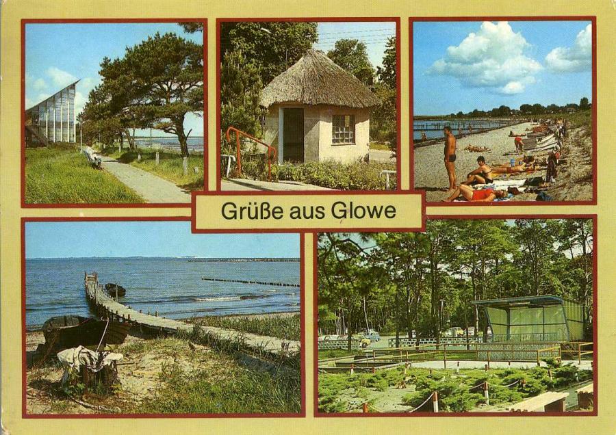 Grüße aus Glowe 1988