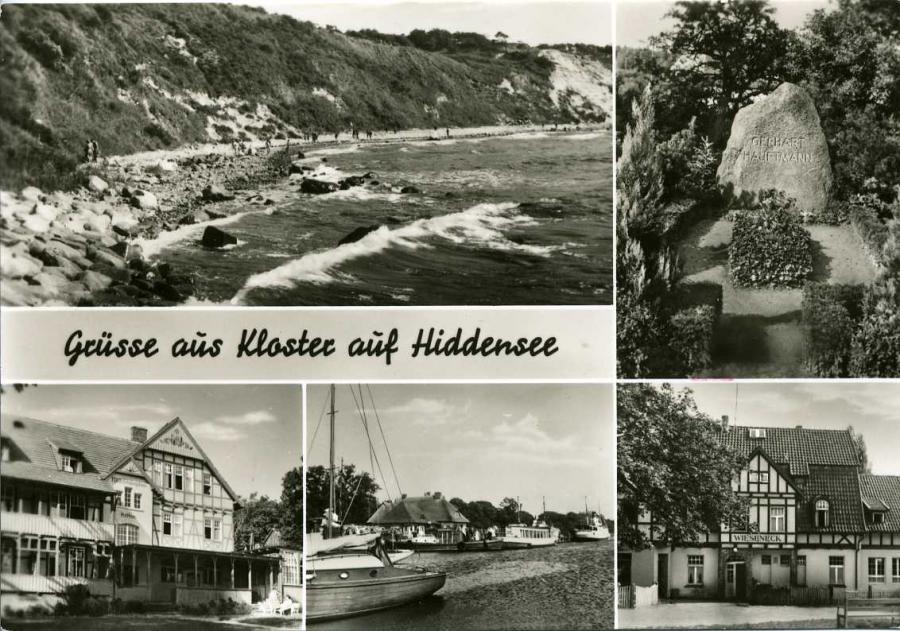 Grüsse aus Kloster auf Hiddensee 1973