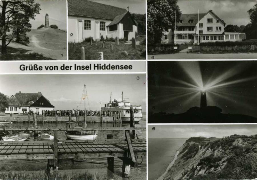 Grüße von der Insel Hiddensee