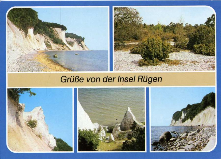 Grüße von der Insel Rügen 1988