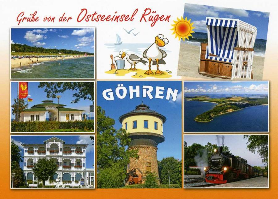 Grüße von der Ostseeinsel Rügen Göhren