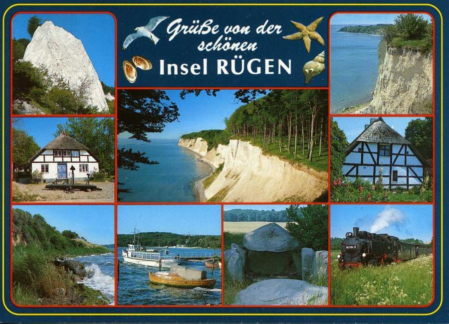Grüße von der schönen Insel Rügen