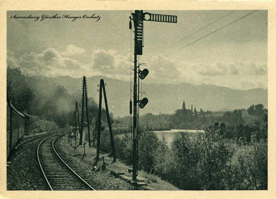 Grüße von einer schönen Eisenbahnreise