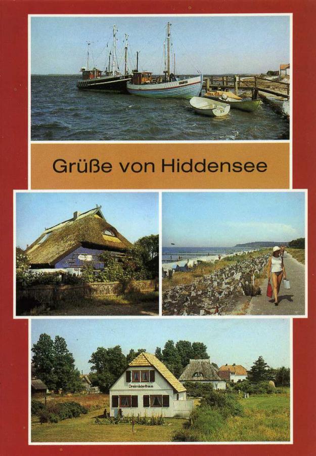 Grüße von Hiddensee