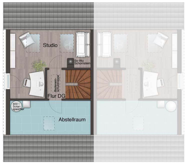 weisz immobilien doppelhaus mainz 128 modern. Black Bedroom Furniture Sets. Home Design Ideas