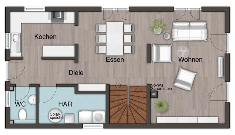EG Stadthaus Aura125
