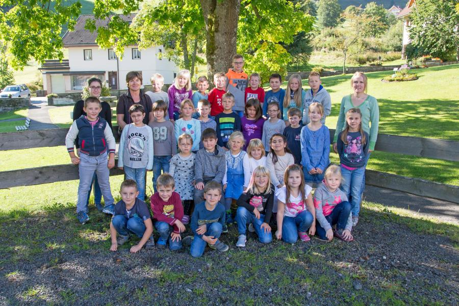 Grundschule Wieden / Utzenfeld 2017 / 2018